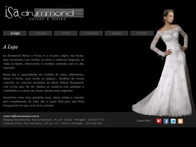 Isa Drummond noivas e festas
